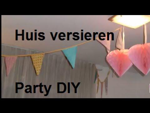 Huis versieren voor verjaardag diy party *shoplog* youtube