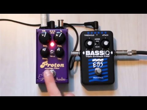EBS BassIQ and 3Leaf Audio Proton - side by side