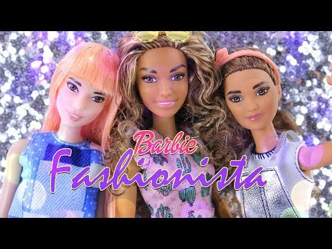 Unbox Daily: New Barbie Fashionistas PLUS Custom Made to Move Fashionista