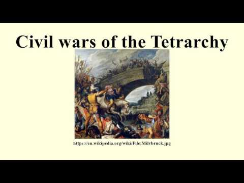 Civil wars of the Tetrarchy