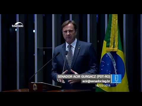 Senador atende Augustinho Figueiredo que solicita mais segurança do Estado para Guajará-Mirim e região