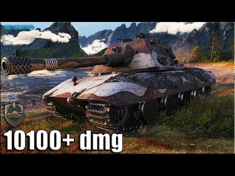 Вот как играть на E 100 ✅ World of Tanks лучший бой