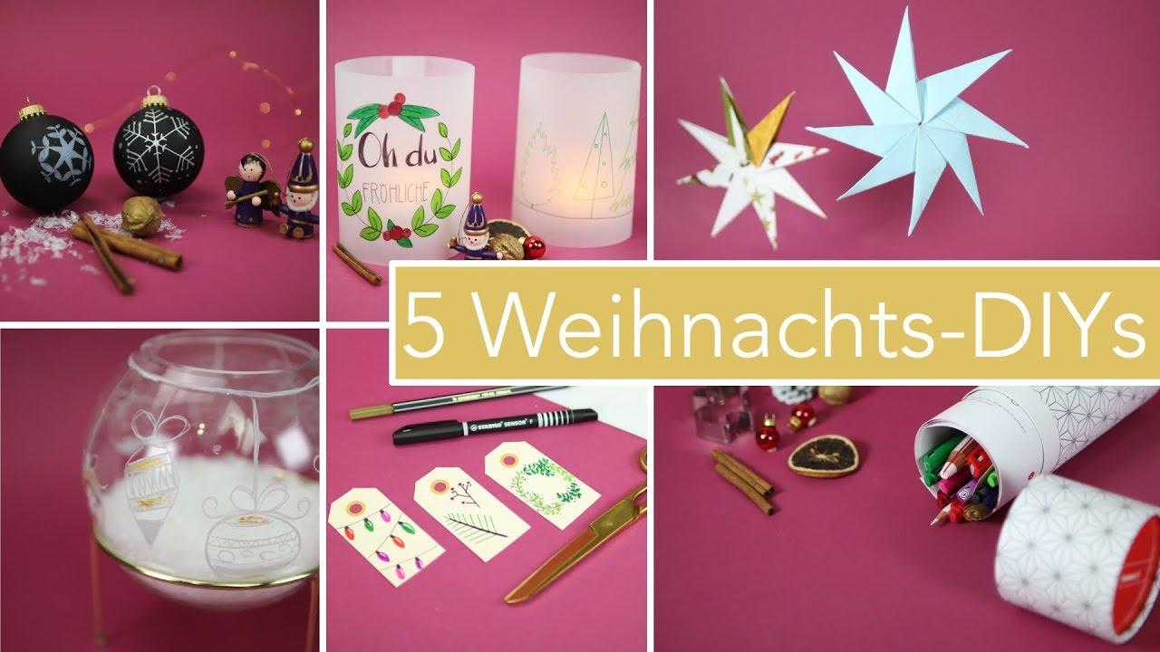 5 diy bastelideen zu weihnachten dekoration geschenke. Black Bedroom Furniture Sets. Home Design Ideas