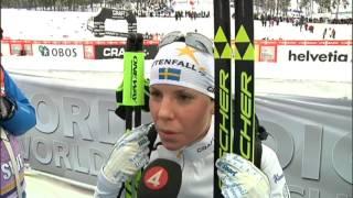 Kallas ilska efter loppet - lämnar intervju - TV4 Sport