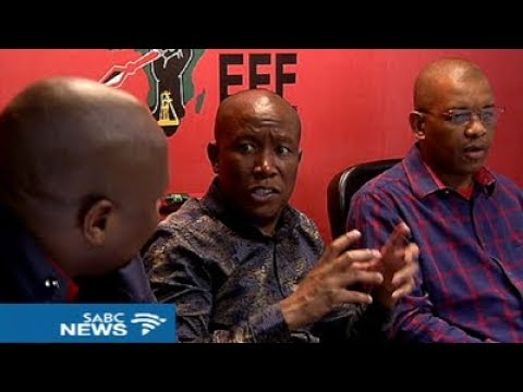 EFF rules out any coalitions after 2019 elections