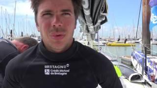 ITW de Sébastien SIMON à la Rochelle