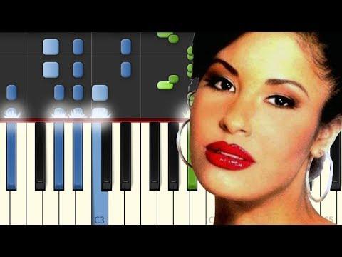 Como La Flor / Selena / Piano Tutorial / Notas Musicales