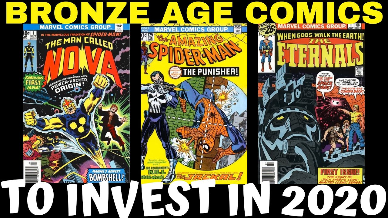 KEY COMIC BOOKS (BRONZE AGE) TO BUY || CHINOCOMICS&MORE ...