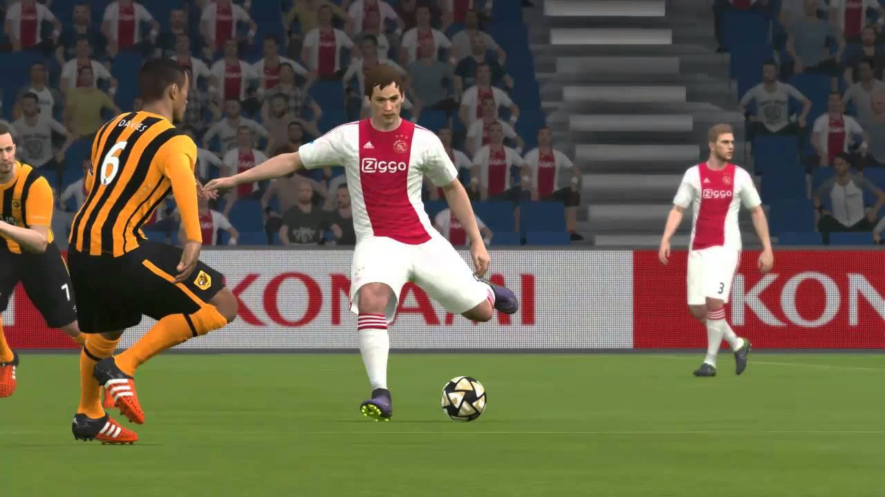 Pes 2016 Full Manual Hull City Vs Ajax 2 Youtube