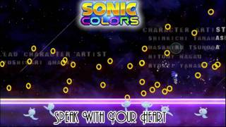 Speak with your heart FULL MP3 DOWNLOAD from Sonic Colors