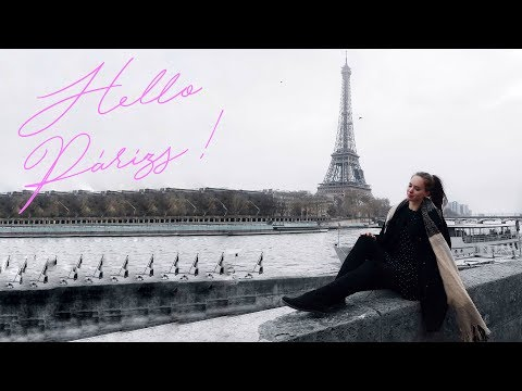 HELLO PÁRIZS! - Párizs Vlog - 1. Nap | Alexa Pallagi
