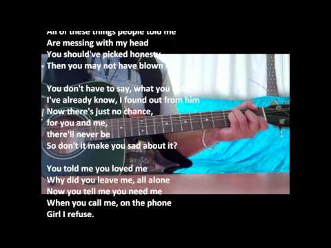 Cry me a river - Justin Timberlake cover guitar