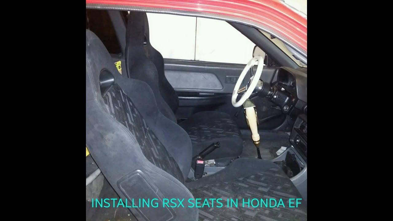 Honda Del Sol Seat Covers