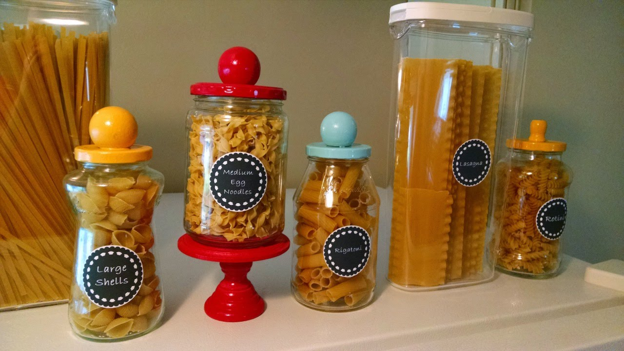 Create Decorative Pasta Jars Diy Home Guidecentral