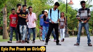 EPIC PEE PRANK Part-2 on Hot Girls | Peeing On Face | Toilet Prank In India