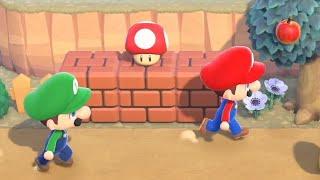 Super Mario X Animal Crossing Reveal Trailer Nintendo Direct 2021 HD