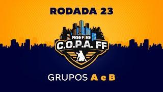 C.O.P.A. FF - Rodada 23 - Grupos A e B