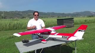 Presentazione CZ Cessna 150 E-flite