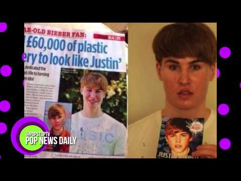 Struggling Songwriter Got $100,000 Worth Of Plastic Surgery To Look Like Justin Bieber!