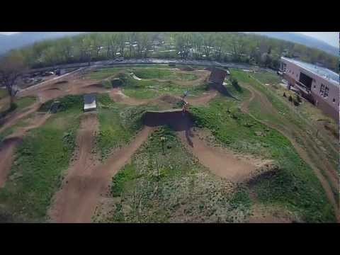 Valmont bike park Boulder, CO - QuadCopter aerial video