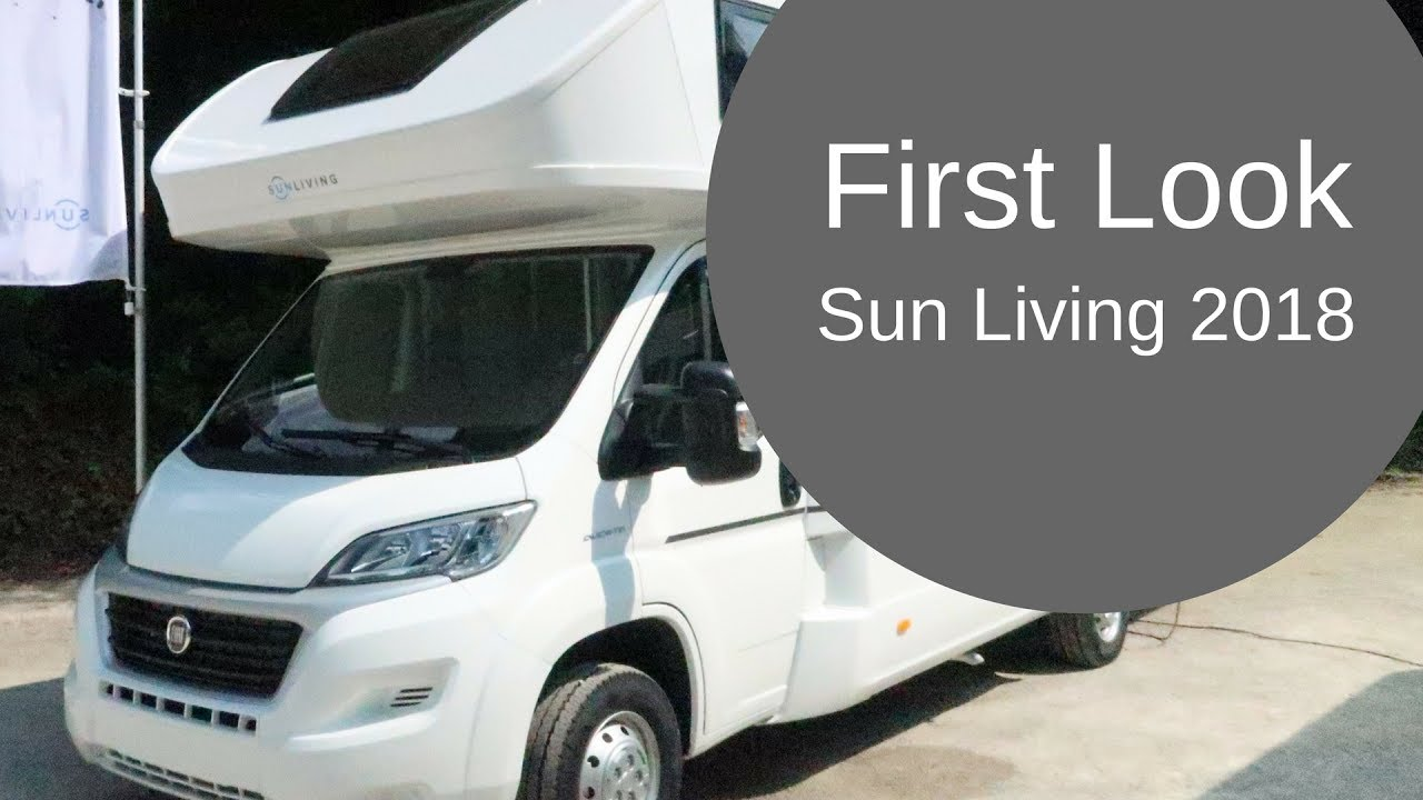 New First Look  Sun Living Motorhome 2018  YouTube