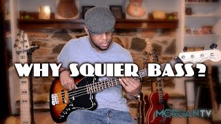 WHY SQUIER BASS? - JERMAINE MORGAN TV - SN.3 EP. 8 - BASS TIPS