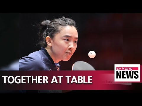 Unified Korea team defeated by Japan in table tennis World Team semi-finals