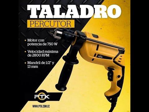 TALADRO PERCUTOR 750W PTK
