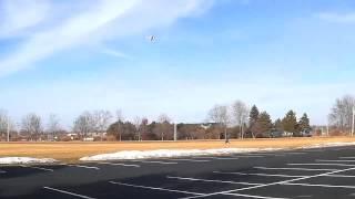 Rc Scratch Built Plane - Maiden Flight