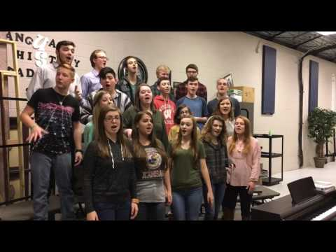 Seymour High School a cappella group sings