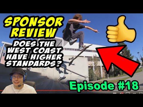 Sponsor Review #18: West Coast Skill Level?