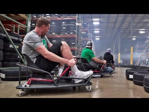 Thumbnail: Stunt Driving Battle | Dude Perfect