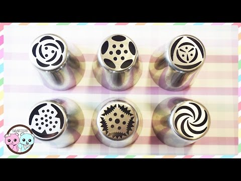 RUSSIAN PIPING TIPS, RUSSIAN PASTRY TIPS - SUGARCODER