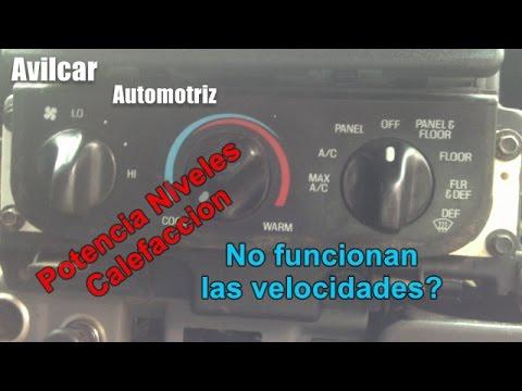 Arreglar pasos velocidades calefaccion ford f150 for Arreglar aire acondicionado