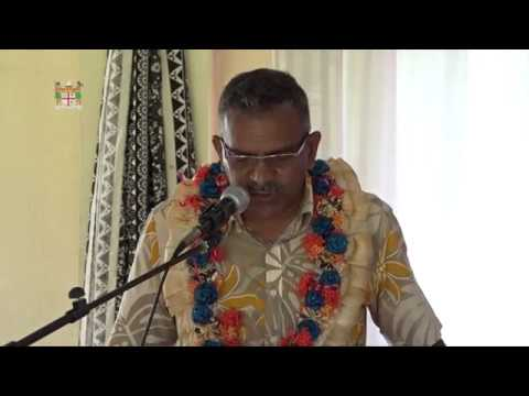 Fijian Acting Prime Minister officiates at Nadi Muslim Primary School Annual Prize Giving.