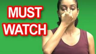 Easy and Simple Yoga Practice To Reduce High Blood Pressure. www.yo...
