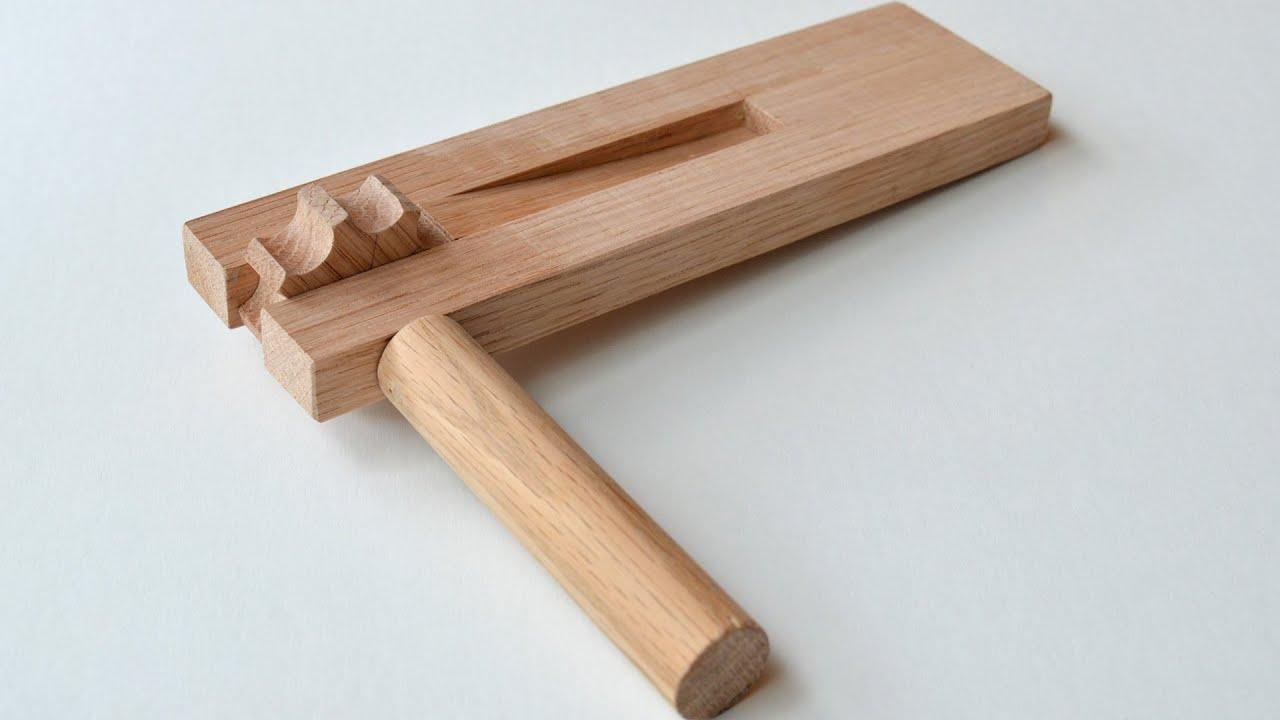 Wooden Ratchet Noisemaker