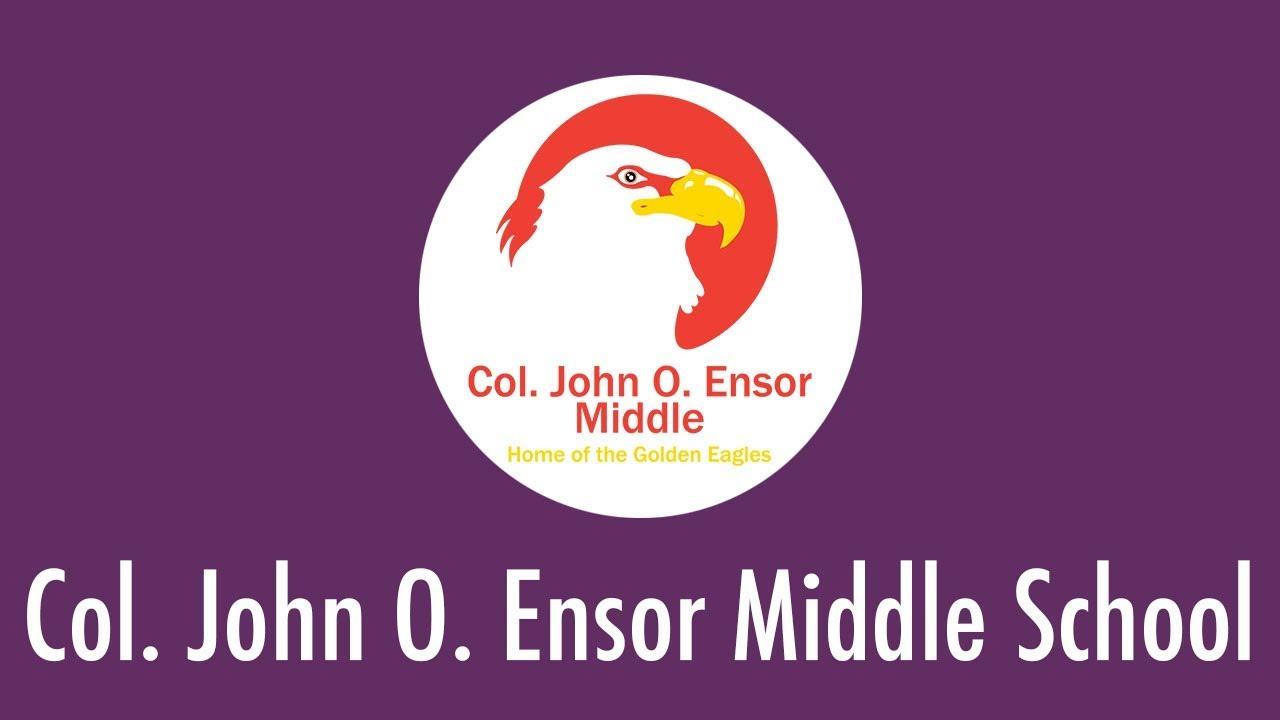 Col  John O  Ensor Middle School / Homepage