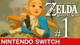 The Legend of Zelda Breath of the Wild: Part 1   Best Zelda Game Yet!?   Nintendo Switch Gameplay