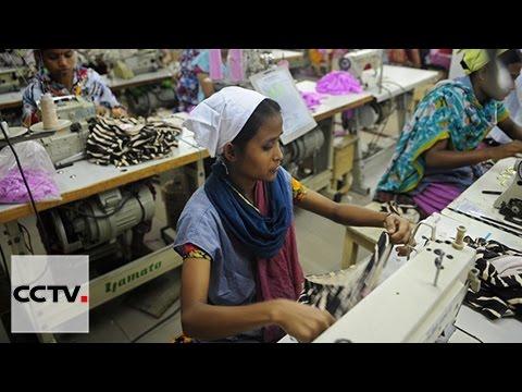 Un atelier chinois de confection vestimentaire créé plusieurs milliers d'emplois