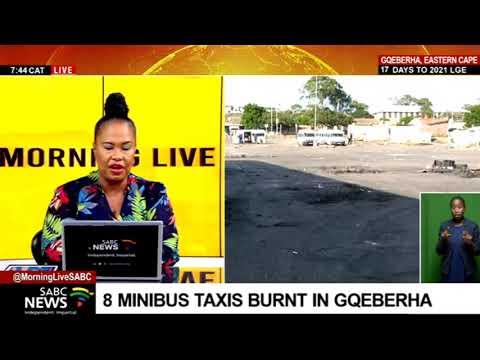 UPDATE    Taxi violence in Gqeberha