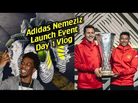 Adidas Nemeziz Launch Event in London Ft. Lingard, Herrera, Desiigner and More! - Day 1 Vlog