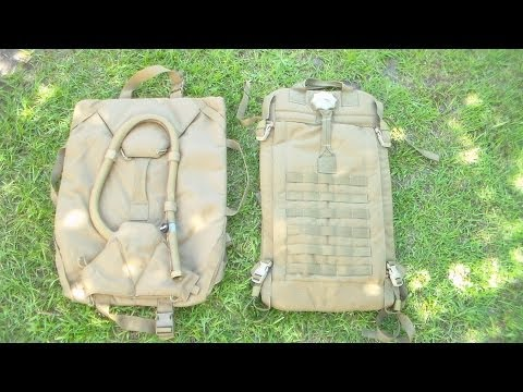 Overview of the Camelbak Squadbak and AquaSource 20L Water Tanker