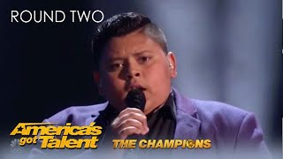 Luke Islam: @Julianne Hough's Golden Buzzer is Back for a Second Chance | AGT Champions 2020