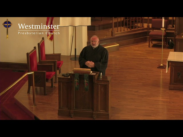 WPC Sermon 5 30 21