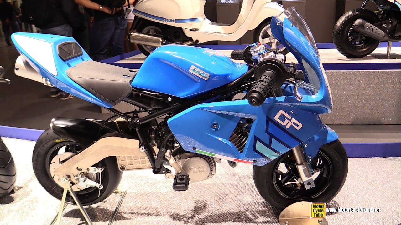 2015 Polini Minibike 911 GP4 Air Junior   Walkaround   2014 EICMA Milan  Exhibition   YouTube