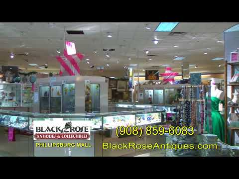 Black Rose  Antiques & Collectibles at the Phillipsburg Mall