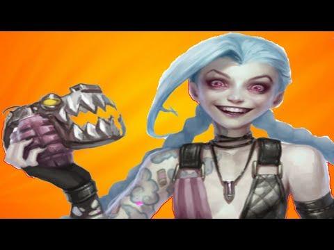 видео: Лига Легенд | Джинкс - самый бешеный керри
