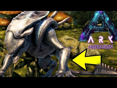PLAY AS XENO CRUSHER IN ABERRATION! PVP PLAYER HUNTING - Ark Aberration Modded Gameplay