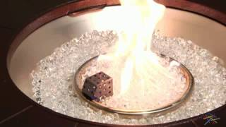 Az Heater 48 In. Round Propane Fire Pit Table With Decorative Scroll - Product Review Video
